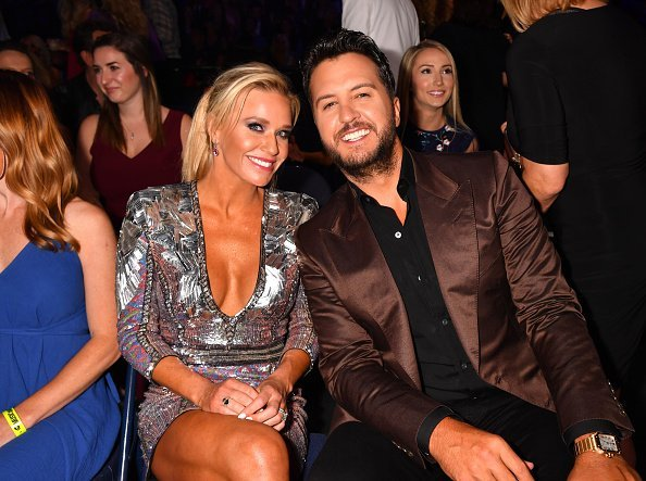 Caroline Boyer and Luke Bryan at the 2019 CMT Music Awards on June 05, 2019 | Photo: Getty Images