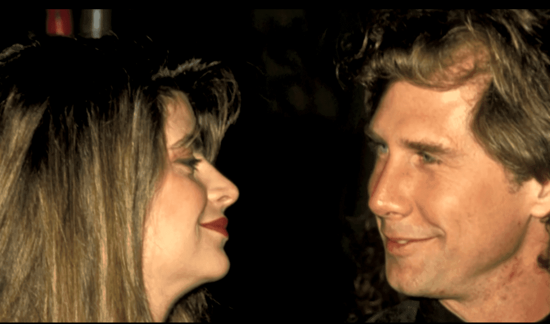 Kirstie Alley and Patrick Swayze. | Source: YouTube/ABC News