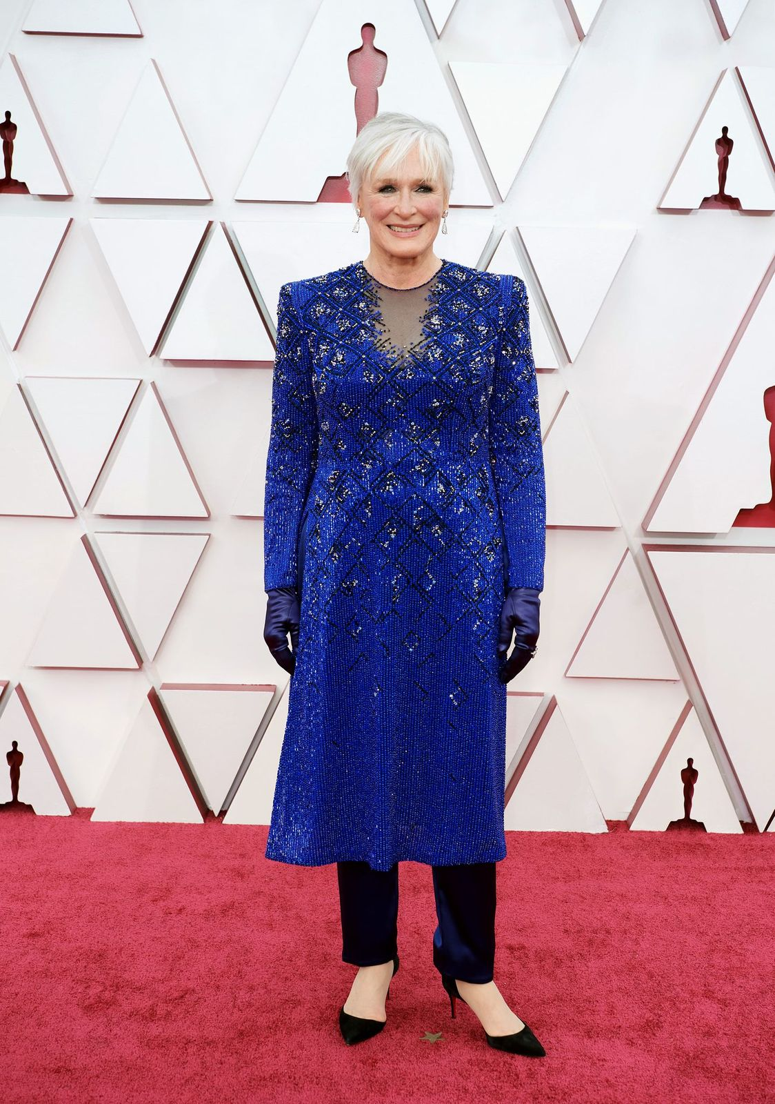 Glenn Close at the 93rd Annual Academy Awards at Union Station on April 25, 2021. | Getty Images