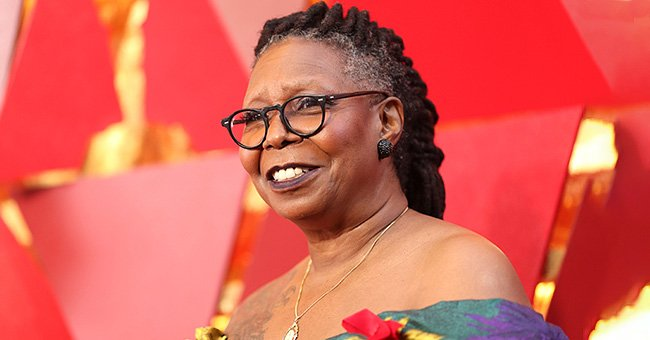 Whoopi Goldberg's Granddaughter Jerzey Dean Shows Plenty of Skin in Black Plunging Maxi Dress in New Photos