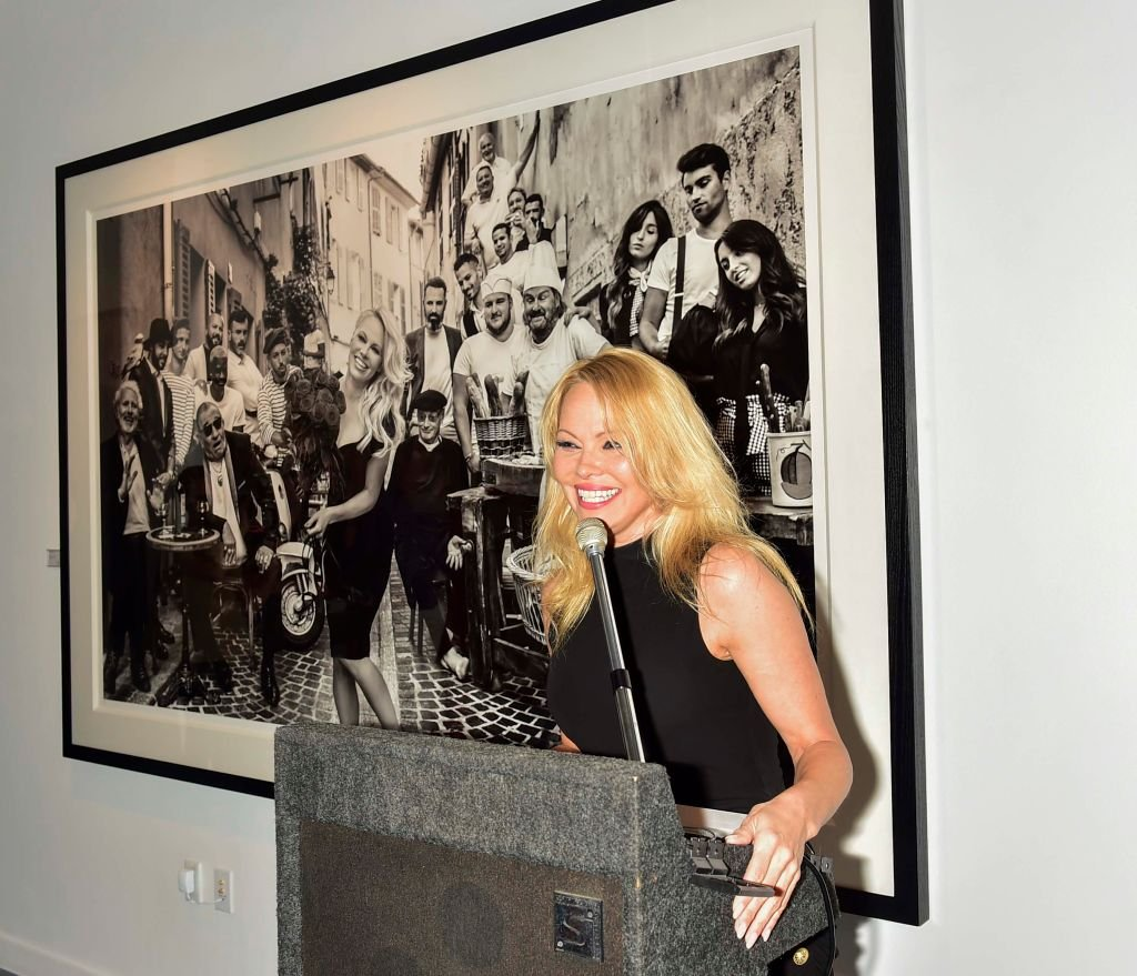 Pamela Anderson attends Maddox Gallery Los Angeles Presents: Pamela Anderson by David Yarrow at Maddox Gallery on June 07, 2019. | Photo: Getty Images