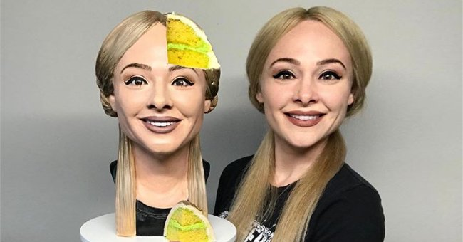 Texas Baker Makes Hyper-Realistic 'Selfie Cake' and Cuts into It in a Video