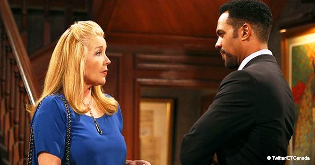 I adored him,' Melody Thomas Scott fights back tears while remembering co-star Kristoff St. John
