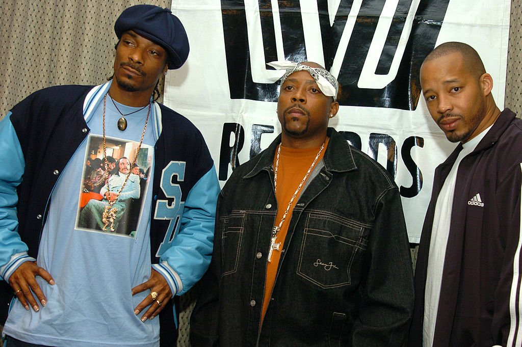 "Snoop Dogg, Nate Dogg and Warren G of ""213"" during Snoop Dogg, Nate Dogg and Warren G Form Hip Hop Supergroup 213 at Millenium Hotel 