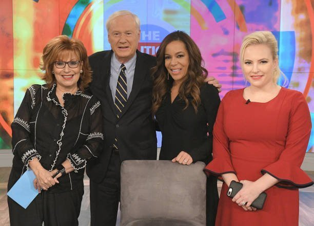 "Joy Behar, Chris Matthews, Meghan McCain on ""The View"" on November 2, 2017 
