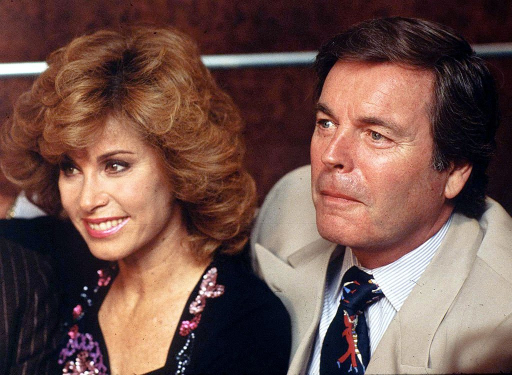 """Stefanie Powers and Robert Wagner from """"Hart to Hart"""" pictured from circa 1987 