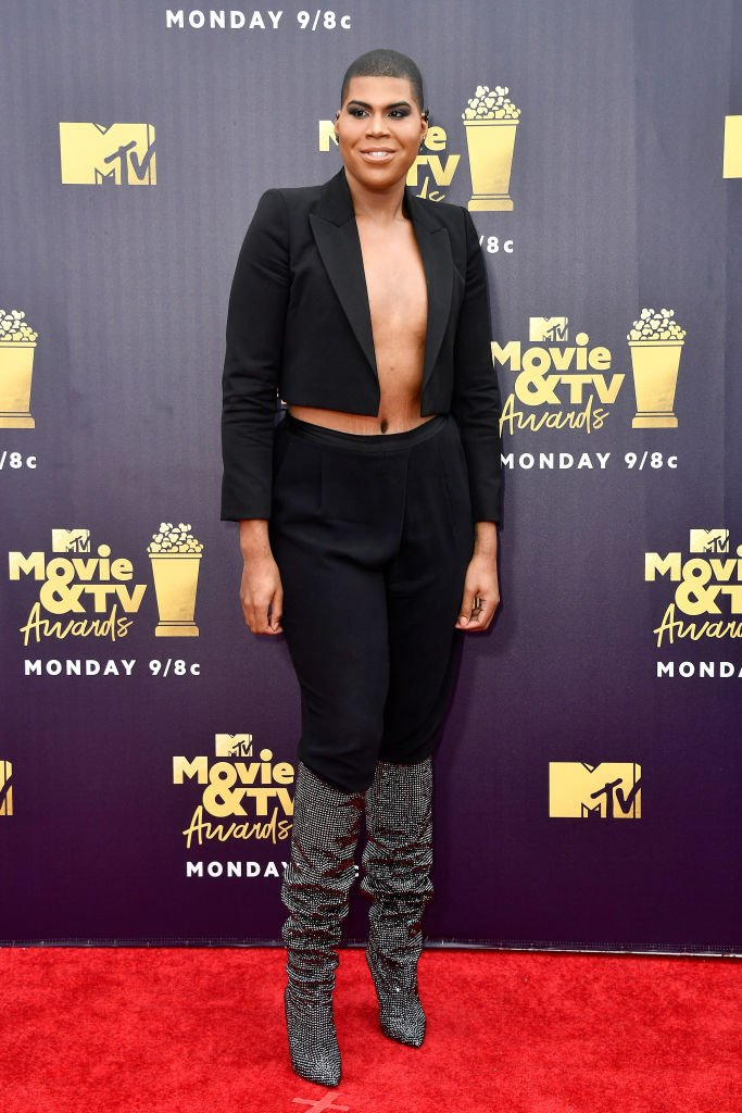 EJ Johnson at the 2018 MTV Movie and TV Awards at Barker Hangar on June 16, 2018, in California   Photo: Getty Images