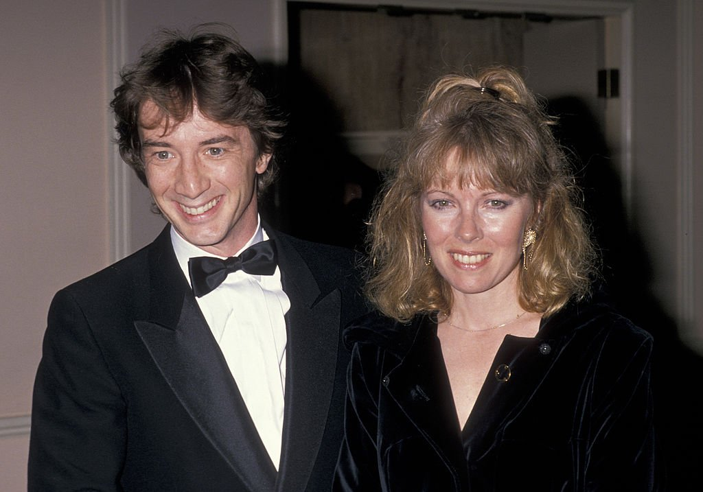 Martin Short and wife Nancy Dolman attending 17th Annual American Film Institute Lifetime Achievement Awards on March 9, 1989 | Photo: Getty Images