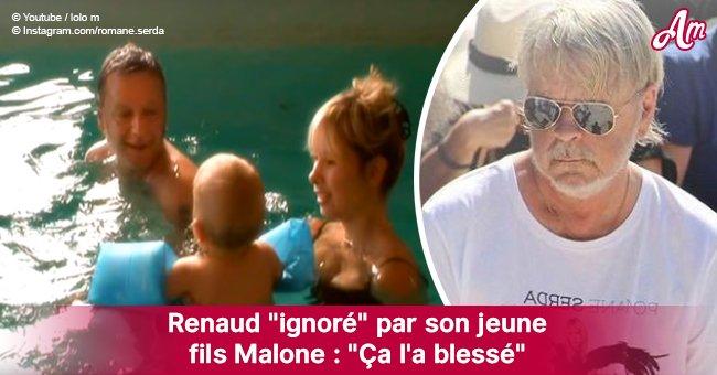 """Comment Malone, le fils de Renaud, """"était gêné d'avoir un père comme lui"""""""
