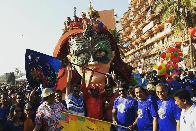 Carnavales en Goa. | Imagen: Wikipedia