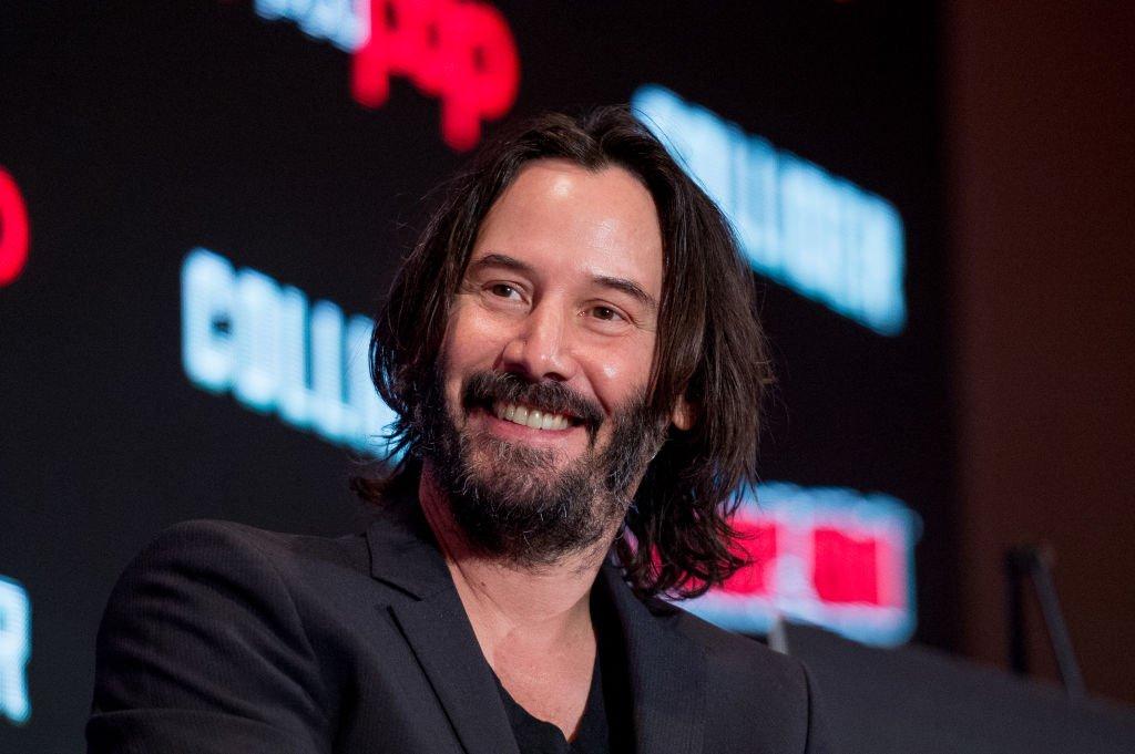 Keanu Reeves durante el Comic Con de Nueva York el 5 de octubre de 2017. | Foto: Getty Images