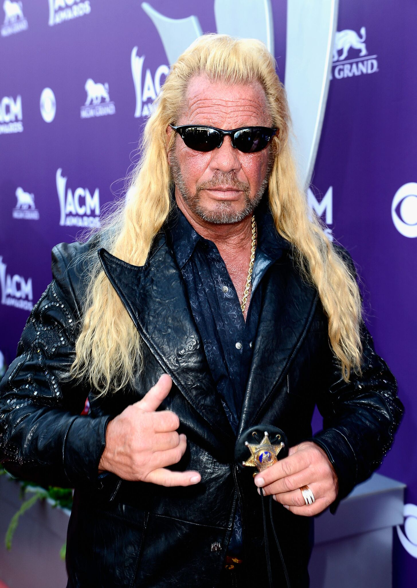 TV personality Dog the Bounty Hunter arrives at the 48th Annual Academy of Country Music Awards at the MGM Grand Garden Arena | Photo: Getty Images