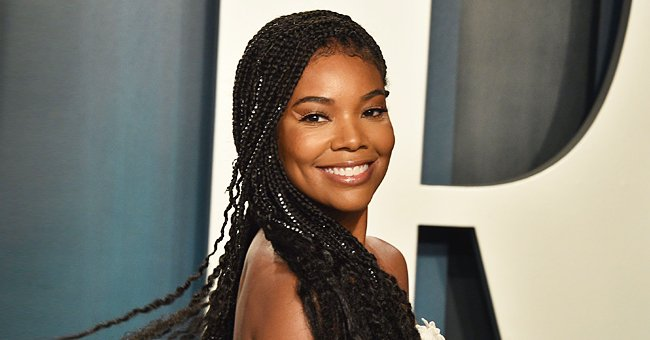 Watch Adorable Video as Gabrielle Union's Daughter Kaavia Goes down a Slide & Grabs Pizza Slice