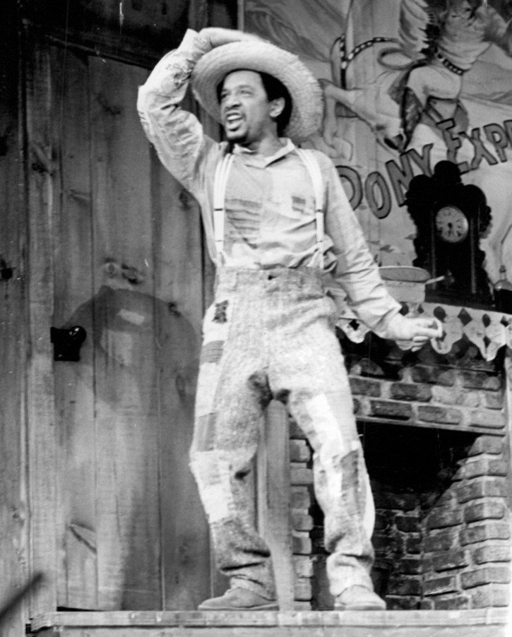 Sherman Hemsley in the Broadway musical Purlie. June 8, 1972 | Photo: Wikimedia Commons Images