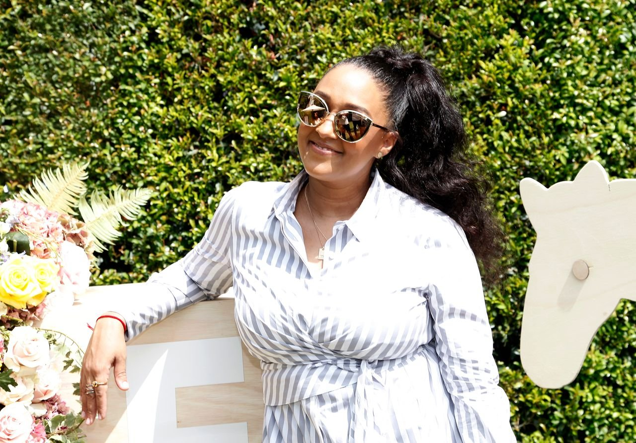 Tia Mowry attends a Back-To-School block party on August 25, 2018. | Photo: Getty Images