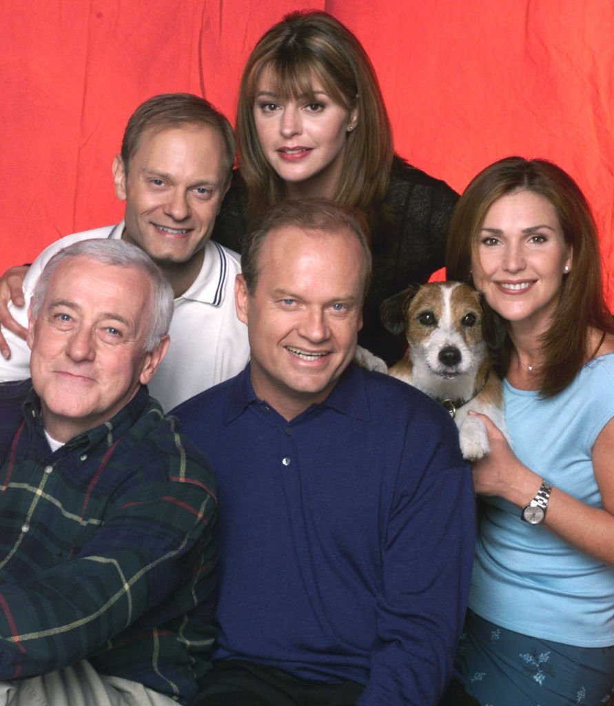 "Cast Members Of NBC Television Comedy Series ""Frasier"" pose for a photograph. 