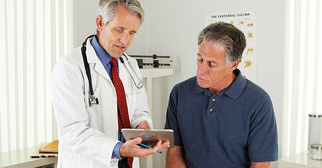 A photo of a man talking to a doctor.   Photo: Shutterstock