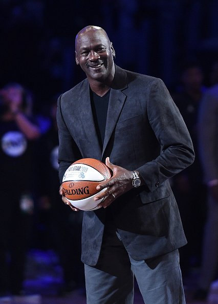 Michael Jordan at Staples Center on February 18, 2018 in Los Angeles, California. | Photo: Getty Images