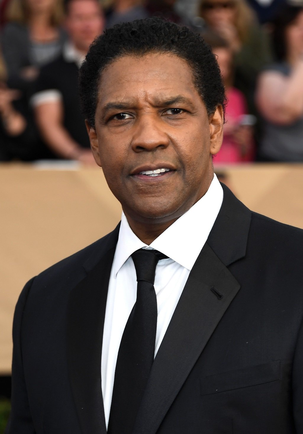 Denzel Washington at the 23rd Annual Screen Actors Guild Awards at The Shrine Auditorium on January 29, 2017, in Los Angeles, California | Source: Getty Images