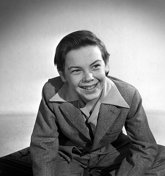 Bobby Driscoll pictured in 1949. | Photo: Getty Images