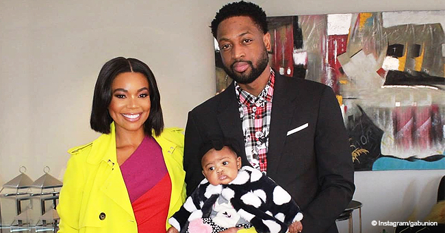 Gabrielle Union Shares Sweet Video of Dwyane Wade & Daughter after News about Husband's Retirement