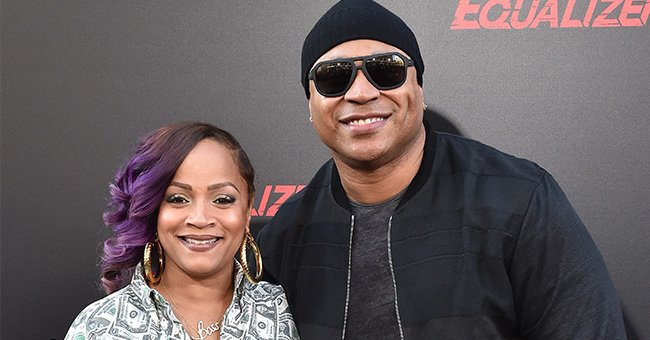 See LL Cool J's Wife of 25 Years Rocking Leaf Printed Monochrome Dress & Hat While Chilling on Yacht