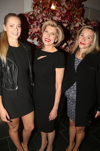 Lily Cowles, Christine Baranski and Isabel Murphy at 583 Park Ave Event Space on November 2, 2015 in New York City. | Photo: Getty Images
