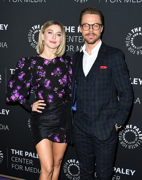 Julianne Hough and Derek Hough at The Paley Center for Media on December 05, 2019 in Beverly Hills, California. | Photo: Getty Images