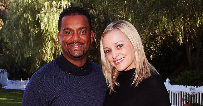 Alfonso Ribeiro of 'The Fresh Prince of Bel-Air' Shares Cute Photo of His Baby Playing with Plastic Bubbles