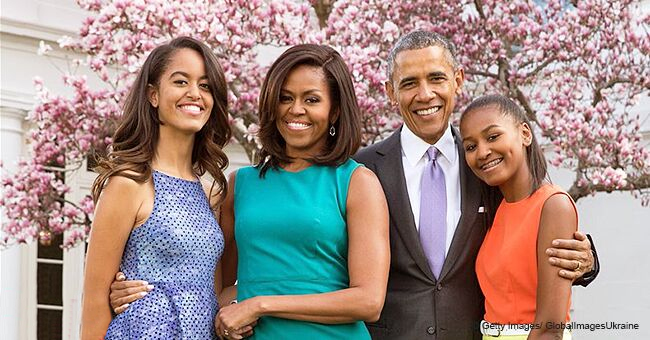 Barack Obama Shares Family Photo and Warm Easter Message