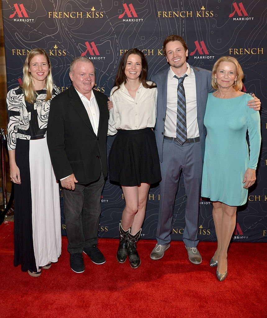 Lelia Parma, actors Jack McGee, Carly Ritter Tyler Ritter and Nancy Morgan attend The Marriott Content Studio | Getty Images