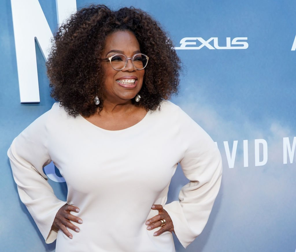 """Oprah Winfrey attends the premiere of OWN's """"David Makes Man"""" at NeueHouse Hollywood 