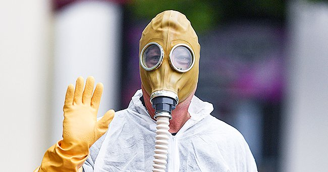 Howie Mandel Draws Support from Fans after Showing up for AGT Taping in Full-Scale Hazmat Suit