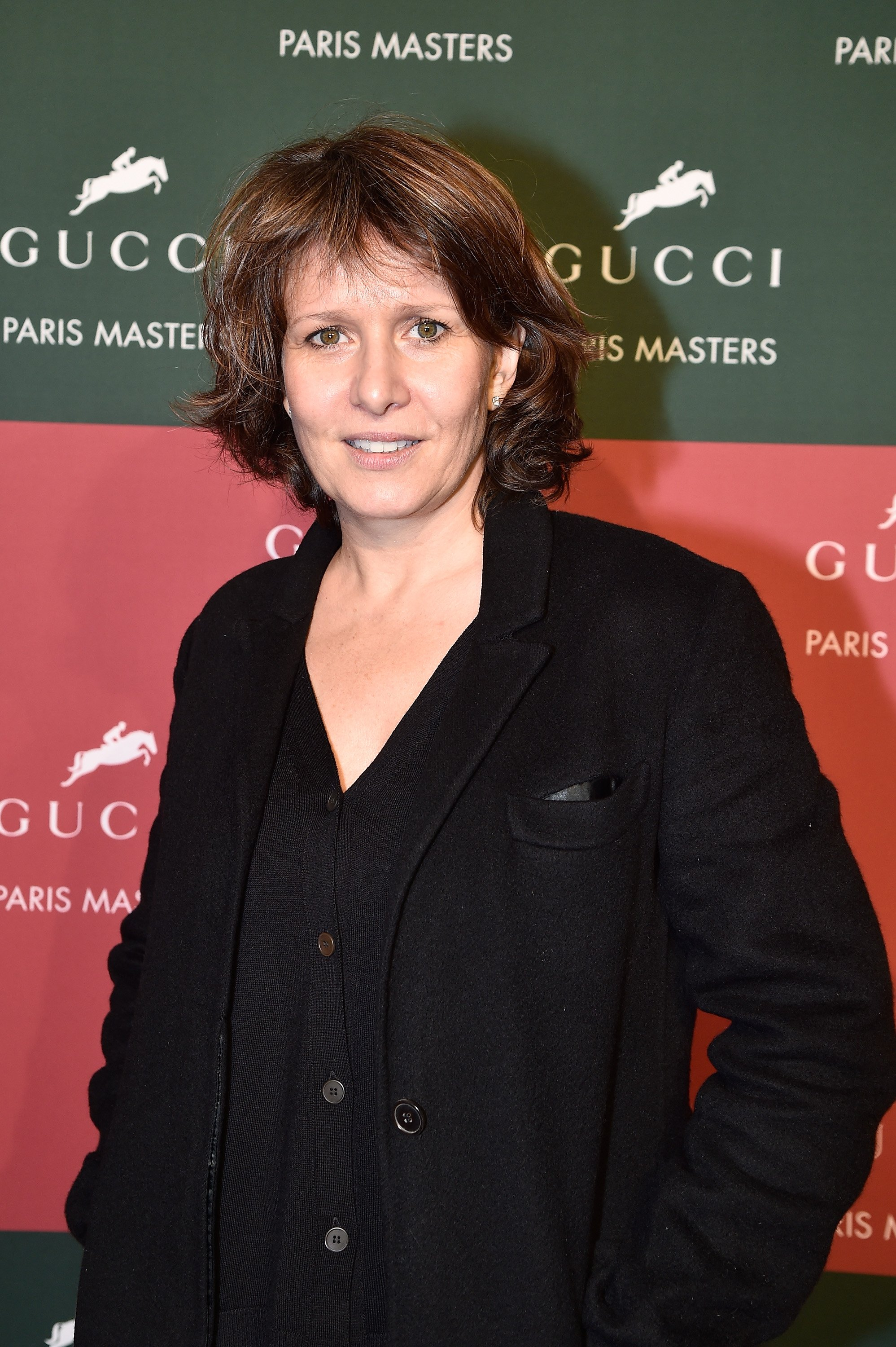 Carole Rousseau assiste à la deuxième journée des Gucci Paris Masters 2014 le 5 décembre 2014 à Villepinte, France. | Photo : Getty Images