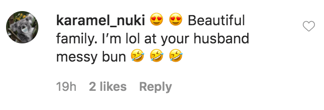 A fan commented on Tia Mowry's photos with her family on Memorial Day weekend | Source: Instagram.com/tiamowry