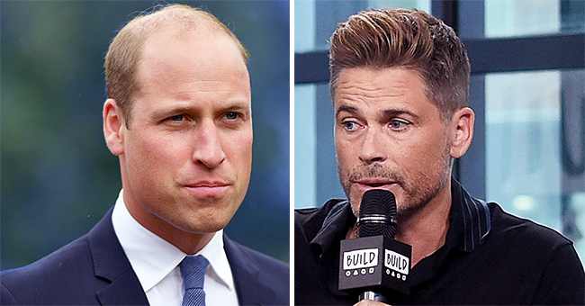 Prince William Fans Say Rob Lowe Has 'No Class' for Reportedly Calling Royal's Hair Loss 'Traumatic'