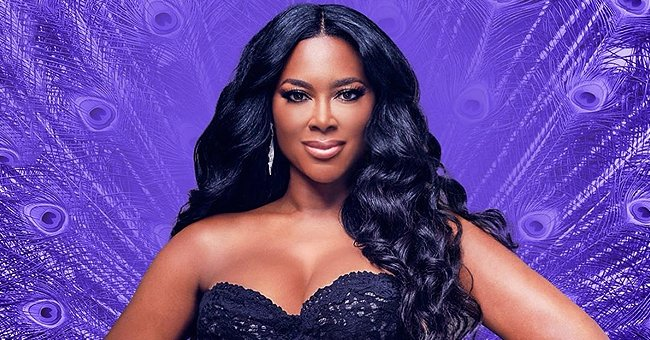 Kenya Moore Flaunts Her Glamorous Pink Look While Riding a Bentley (Photo)
