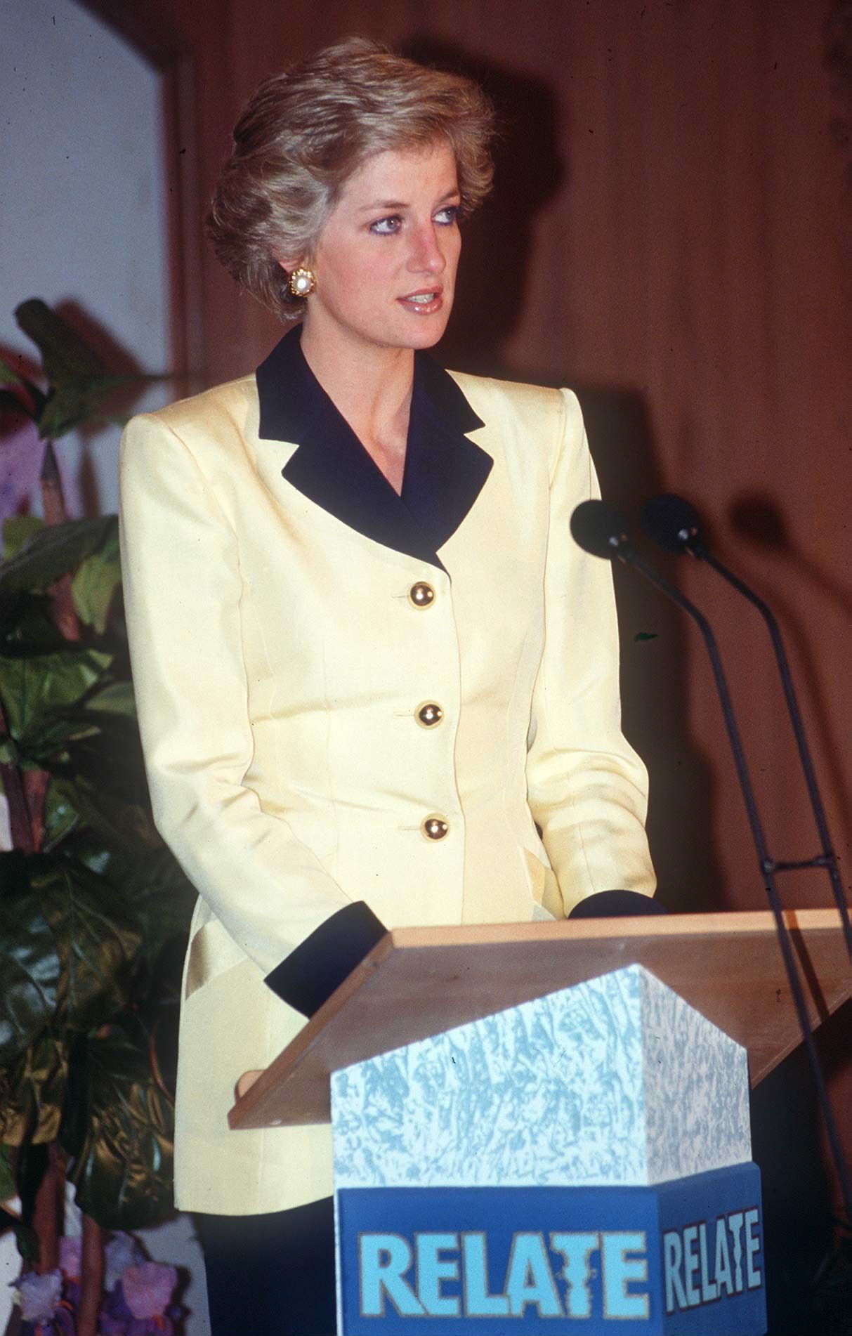 Diana, Princess Of Wales, at an award ceremony At The Inn On The Park Hotel In London   Photo: Getty Images