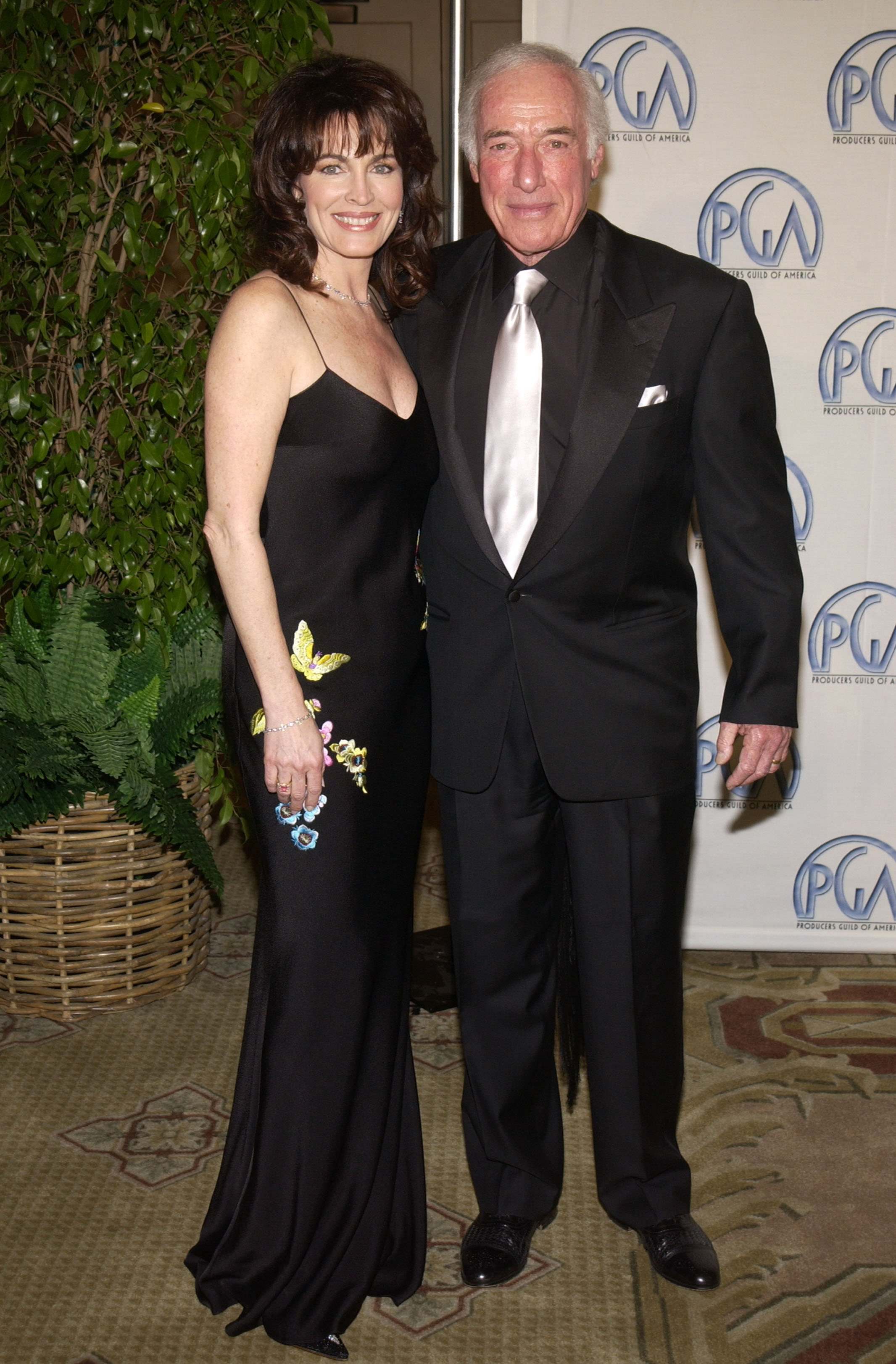 Cynthia Sikes and Bud Yorkin during 14th Annual Producers Guild of America Awards at Century Plaza Hotel in Los Angeles | Photo: Getty Images