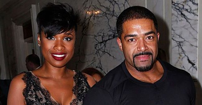 Jennifer Hudson and Her Ex-husband David Otunga Decorate Pumpkin with Their Son in Cool Photos