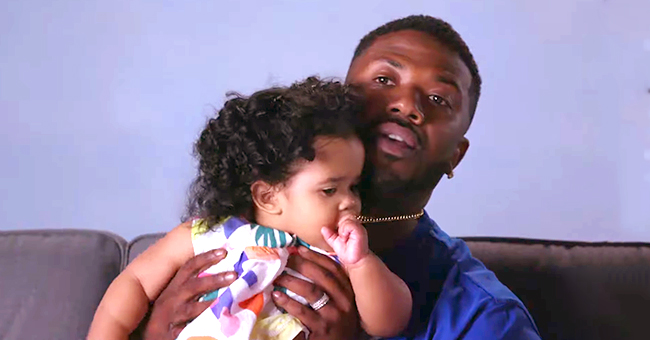 Watch Ray J's Funny 'Daddy Do-Over' on Daughter Melody's Hair