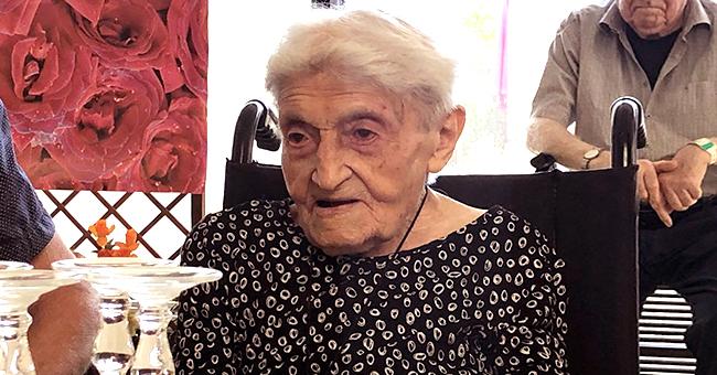 Marie-Louise Berthelot, l'une des femmes les plus âgées de France, fête ses 112 ans