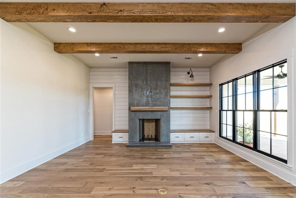 Interior of the 3,150-square-foot home designed and built by Chip and Joanna Gaines.| Photo: Magnolia Realty