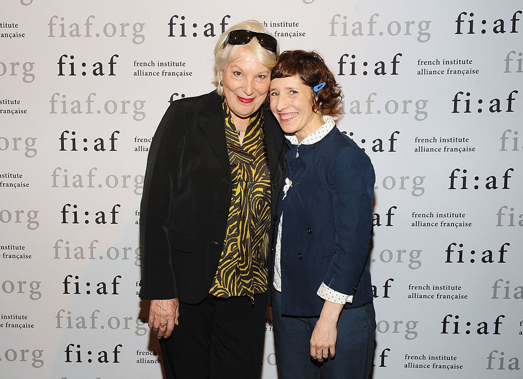Bernadette Lafont et Marie Losier 17 avril 2012 à New York City | Photo : Getty Image
