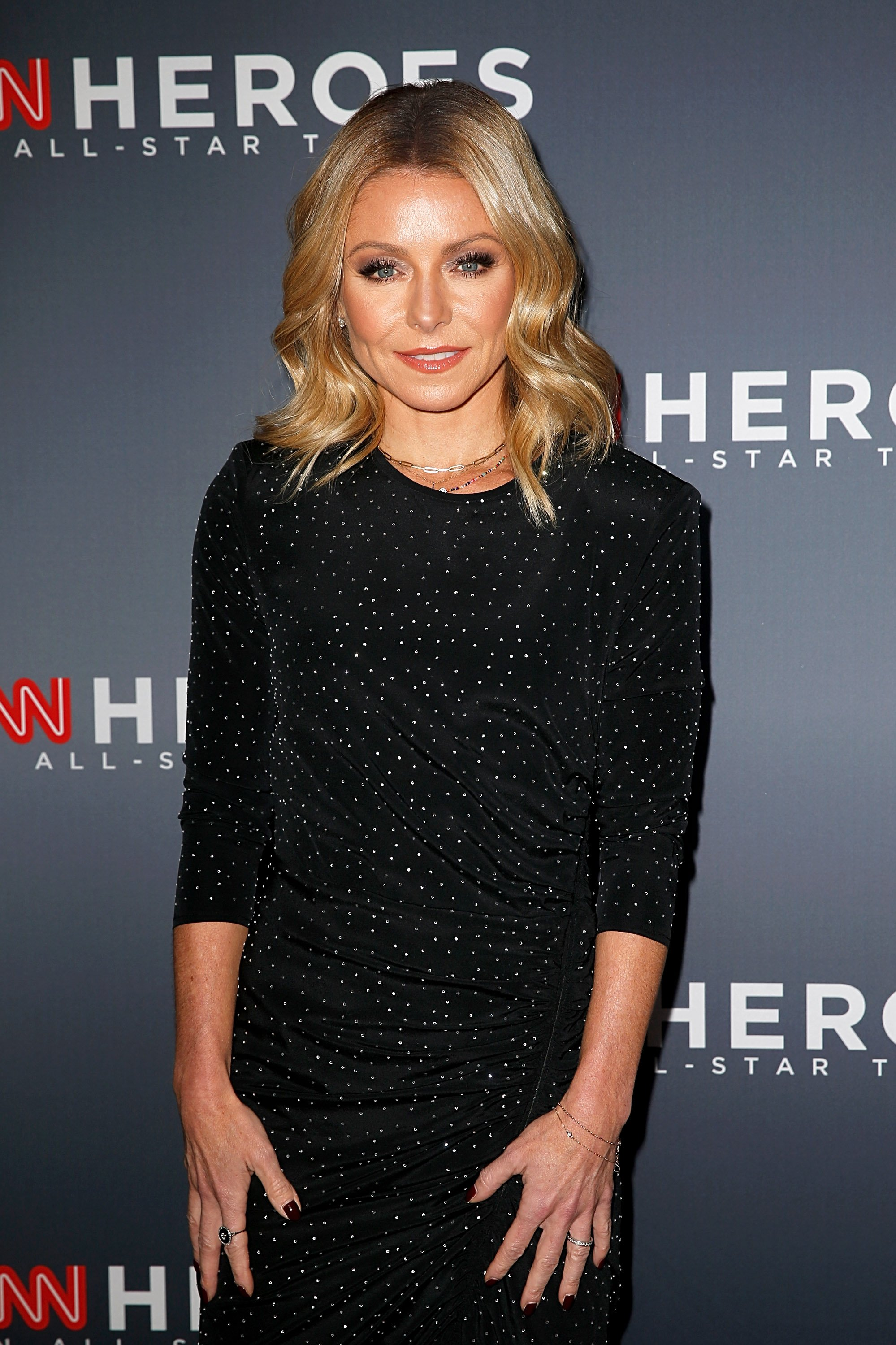 Kelly Ripa at the 12th Annual CNN Heroes An All-Star Tribute at American Museum of Natural History on December 09, 2018 in New York City | Photo: Getty Images