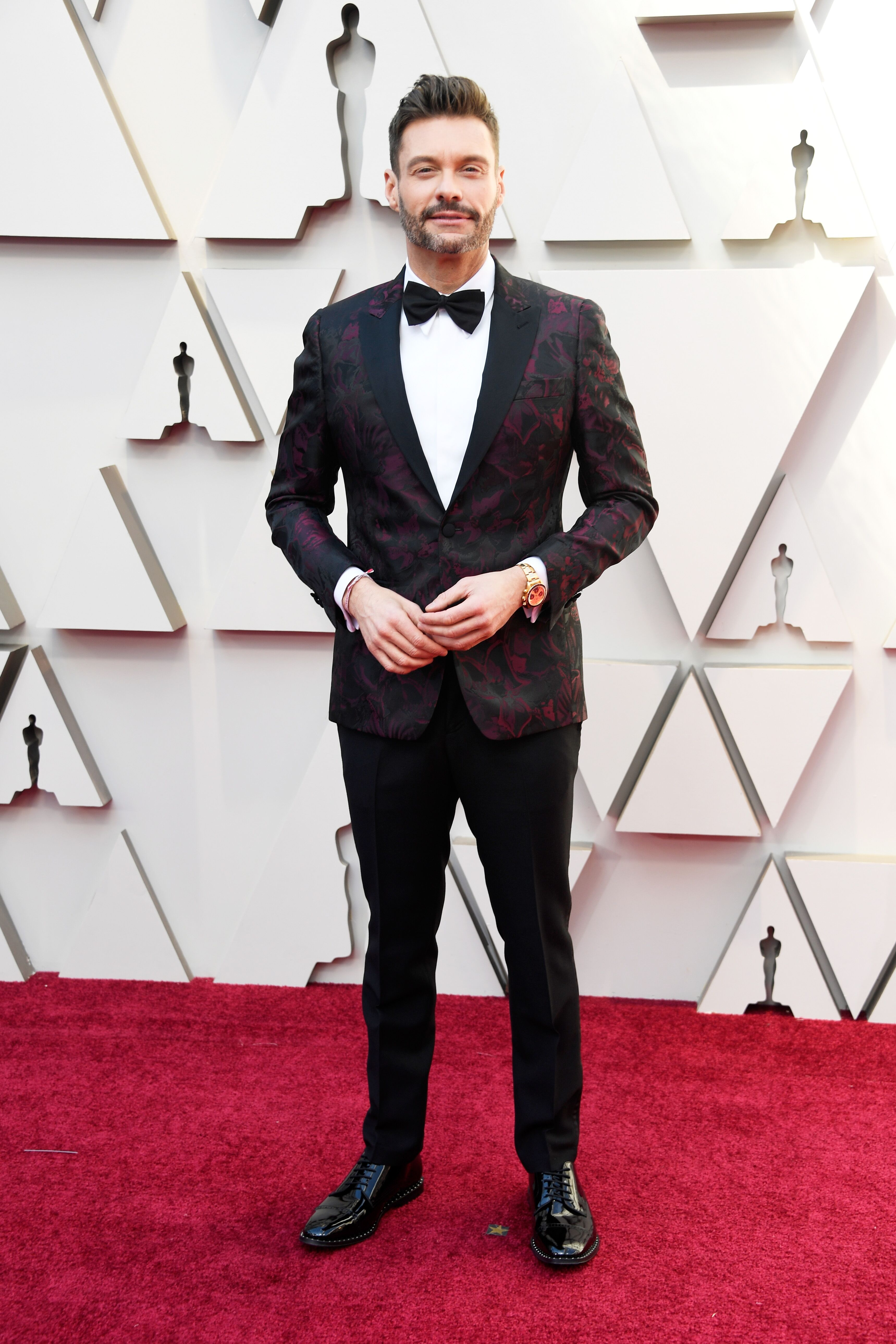 Ryan Seacrest at the 91st Annual Academy Awards.   Source: Getty Images