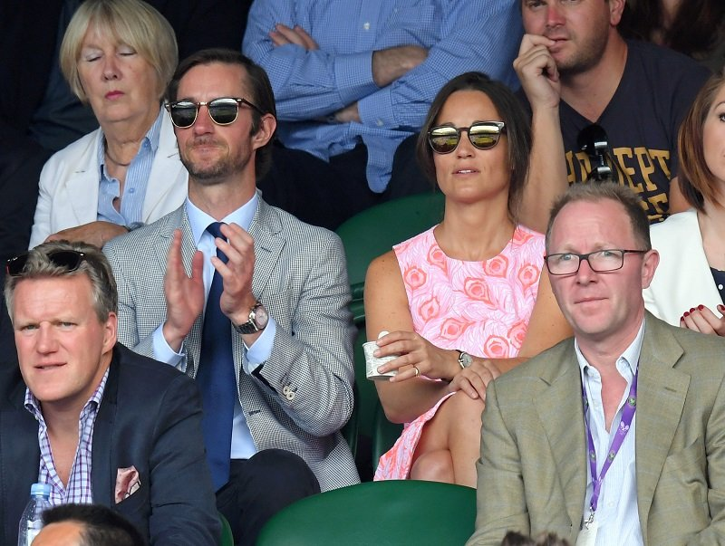 Pippa Middleton and James Matthews at Wimbledon on July 06, 2016 in London, England | Photo: Getty Images