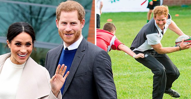 Telegraph: Prince Harry's Rugby Patronage Was Totally Blindsided by the News of His Removal
