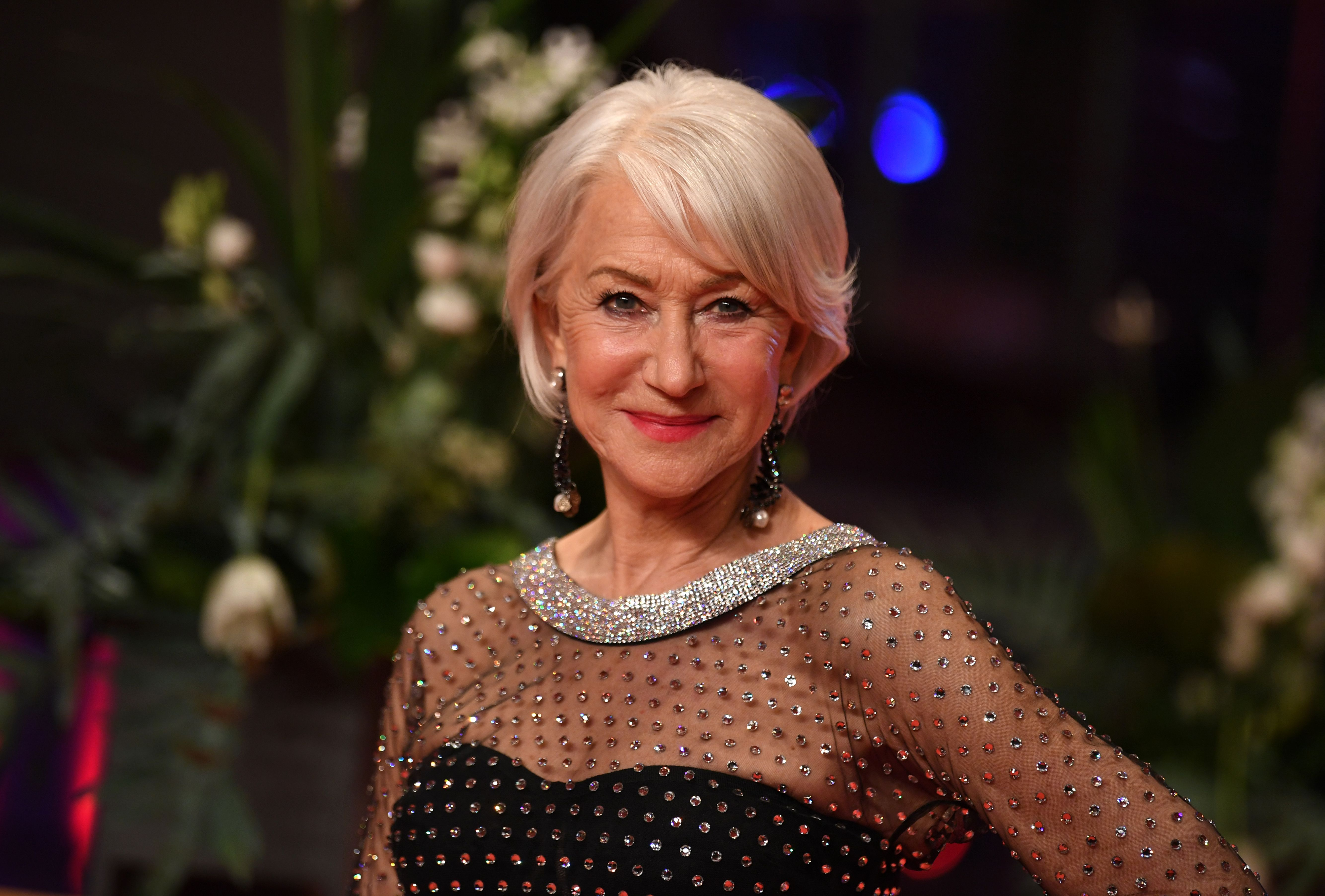 Helen Mirren at The International Film Festival on February 27, 2020   Photo: Getty Images