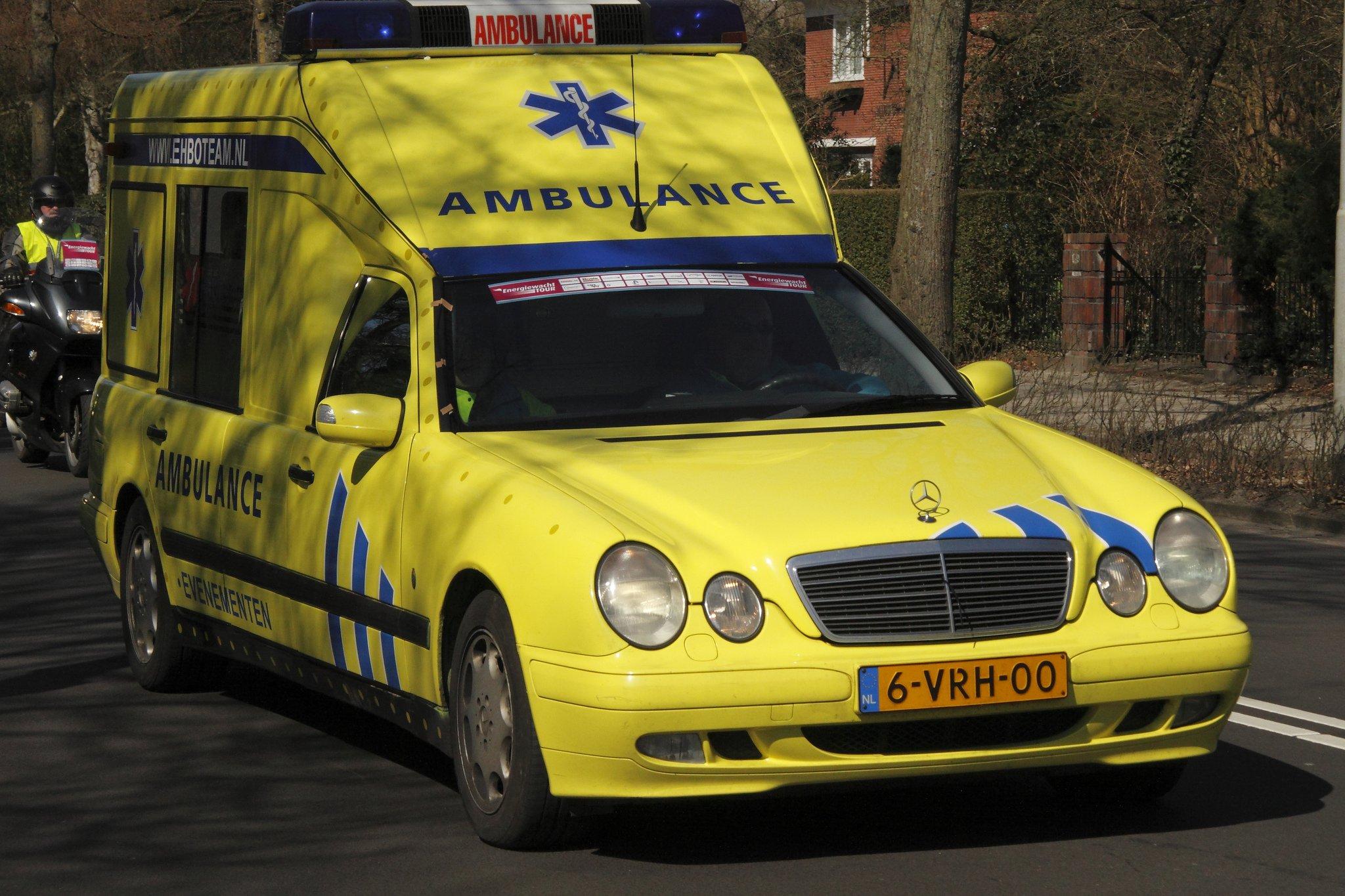 Une ambulance. l Source: Flickr